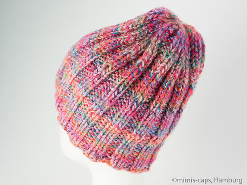Long Beanie kunterbunt women
